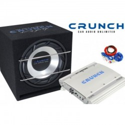 Pachet de bass Crunch Performance BR Pack 400W RMS