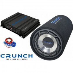Pachet de bass Crunch Power Tube Pack 250W RMS