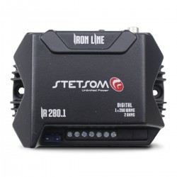 Amplificator compact STETSOM IR 280.1 1 canal 280w RMS