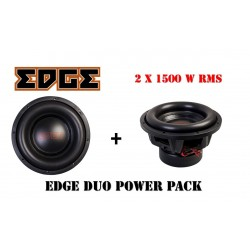 Pachet subwoofere auto Edge Duo Power Pack 3000w RMS