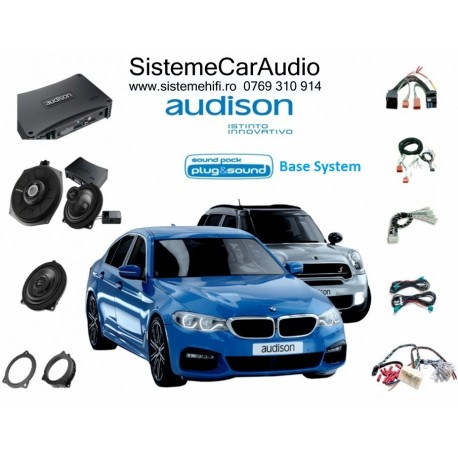 Sistem audio dedicat BMW Base PLUG&PLAY AUDISON